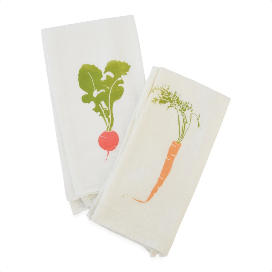 Root Veggie Napkin Set/4