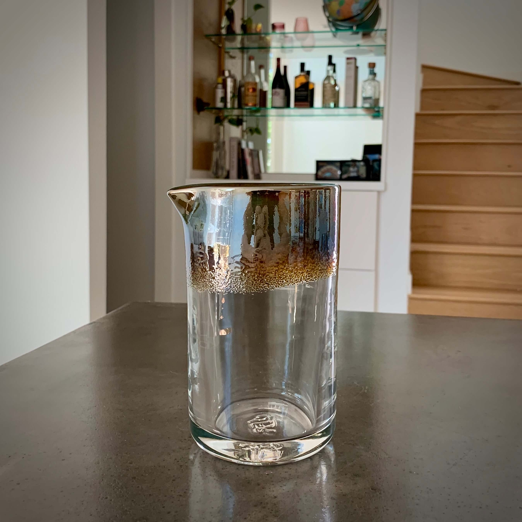 Antique Silver Mixing Glass