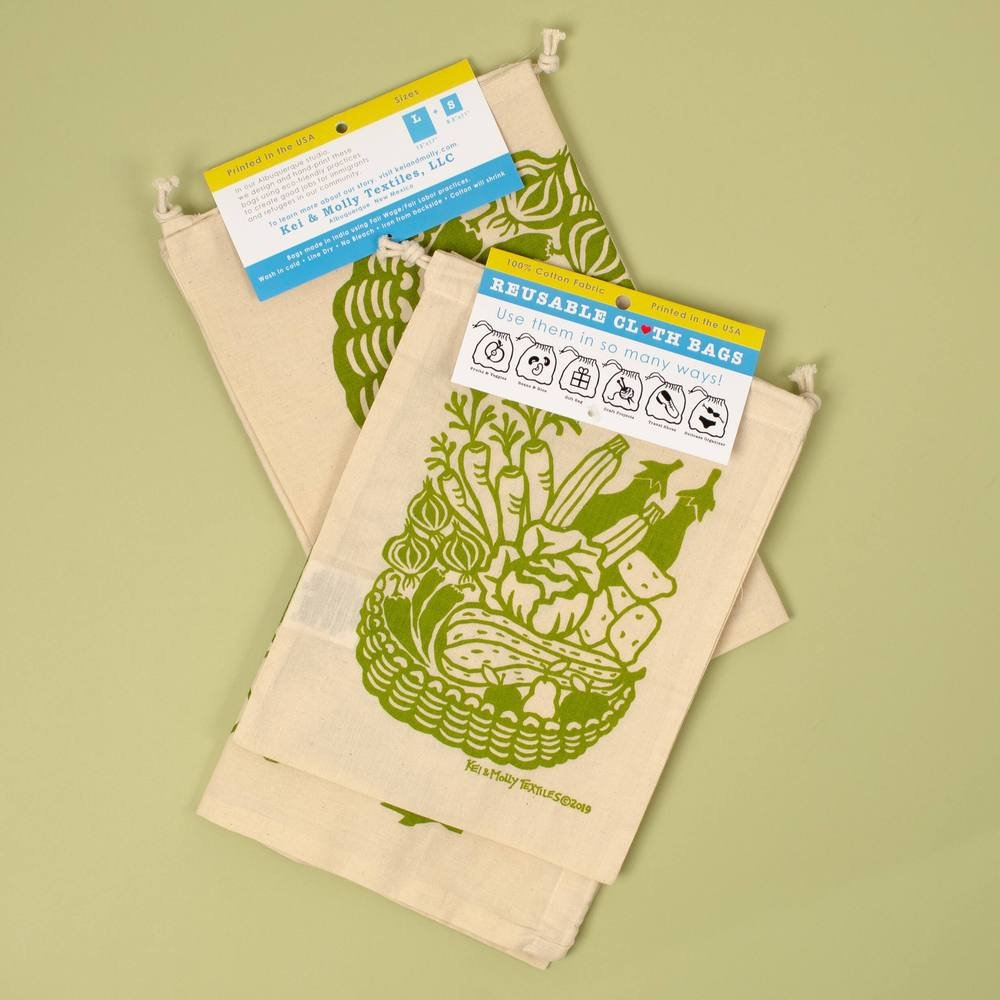 Reusable Cloth Bag Set