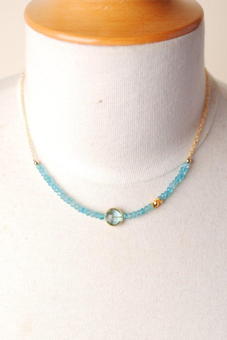 Key Lime Pendant Necklace
