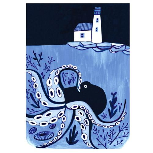 Sea Creatures Print