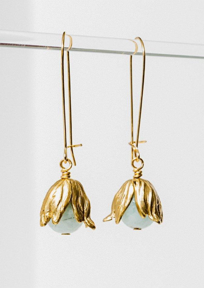 Blue Belle Amazonite Earrings