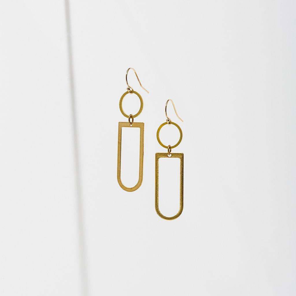 Axiom Geometry Earrings