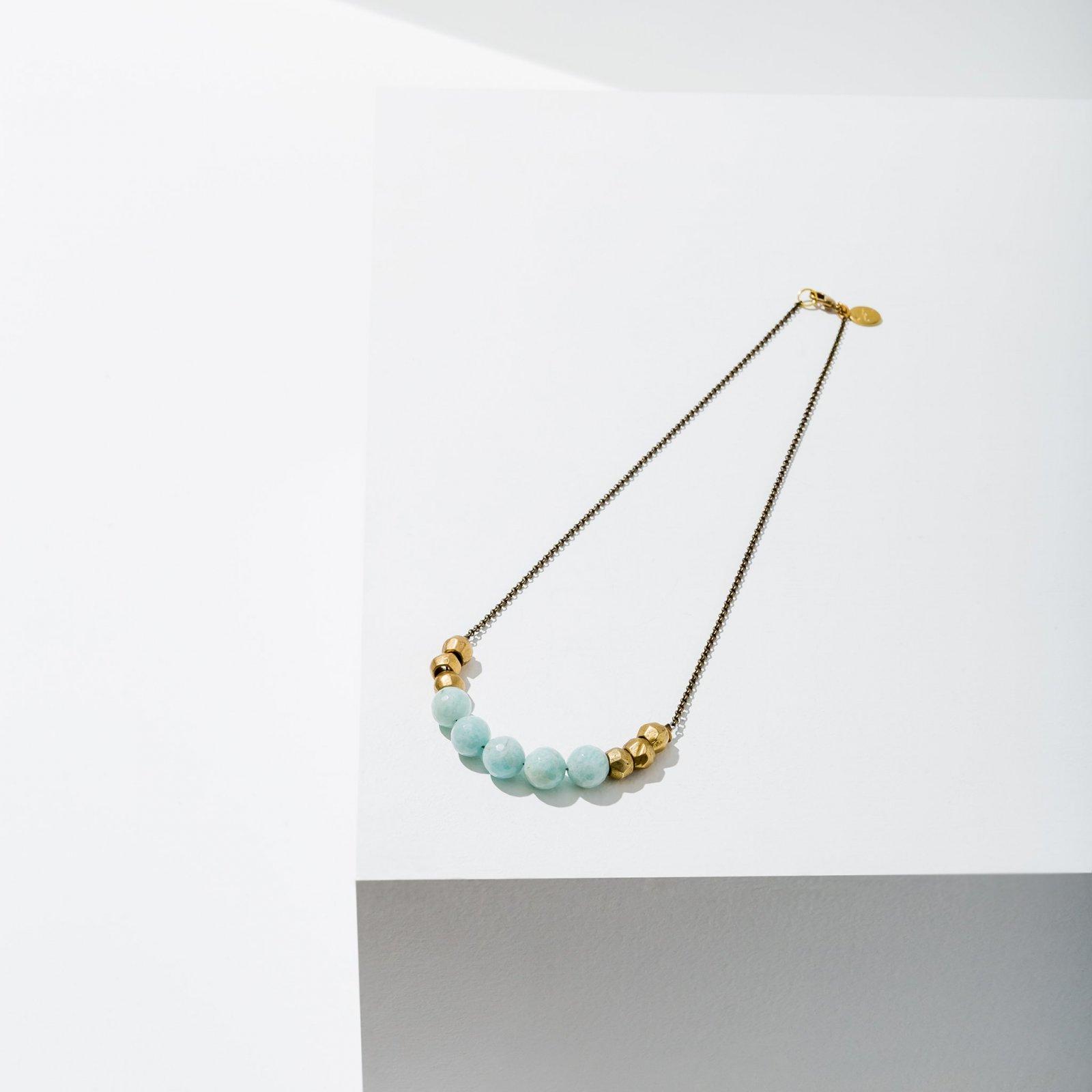 Mint Julep Amazonite Necklace
