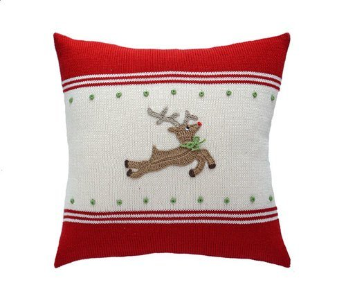 REINDEER PILLOW  14''