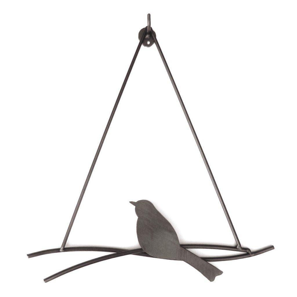 Bird Swing in Dark Steel
