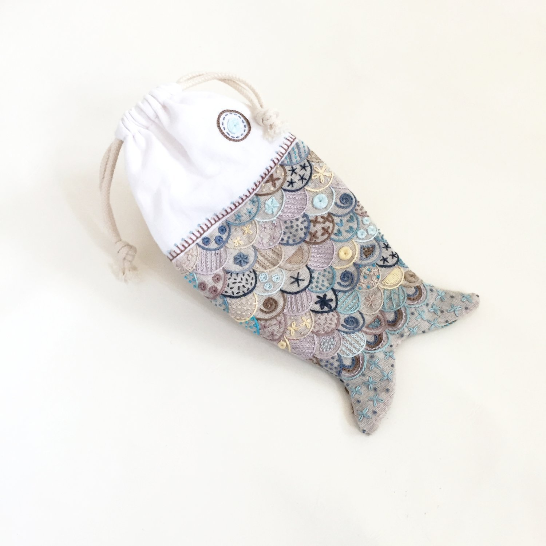 Beach Bag Embroidery Kit