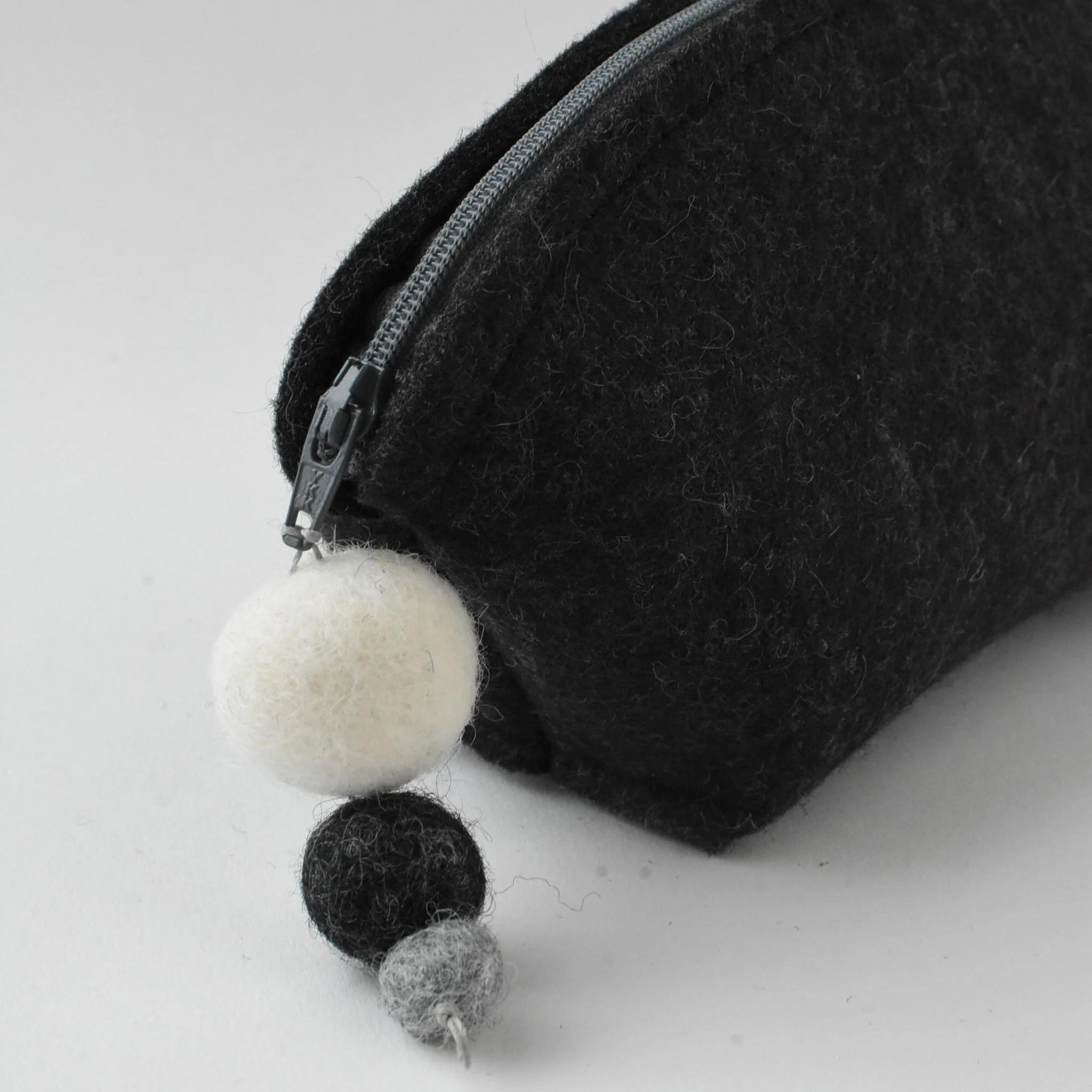 Brigid Wool Pouch Mineral Edition