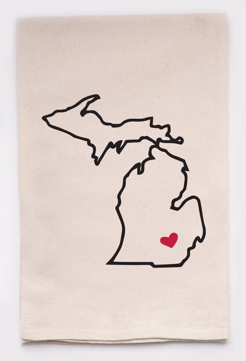Michigan Tea Towel