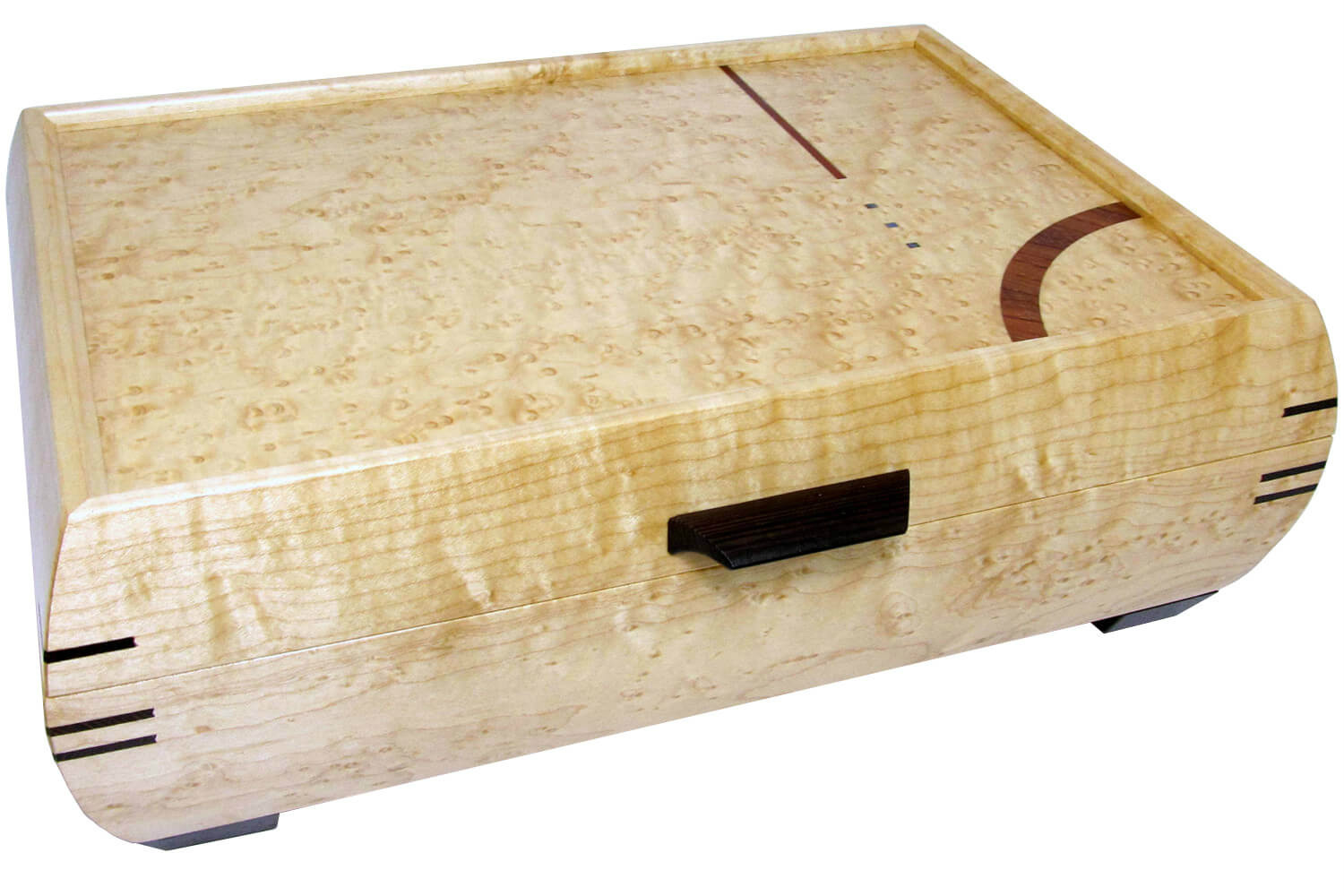 Elegance Jewelry Box in Maple
