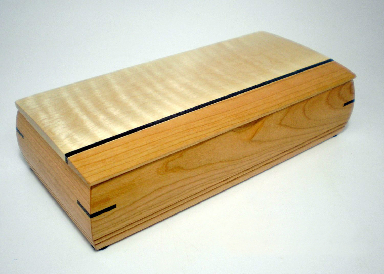 TV Remote Box in Cherry