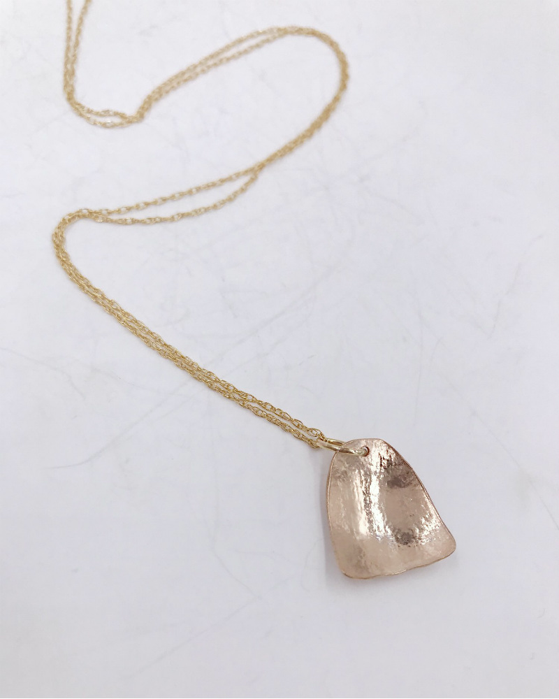 Soft Touch 14K GF Necklace