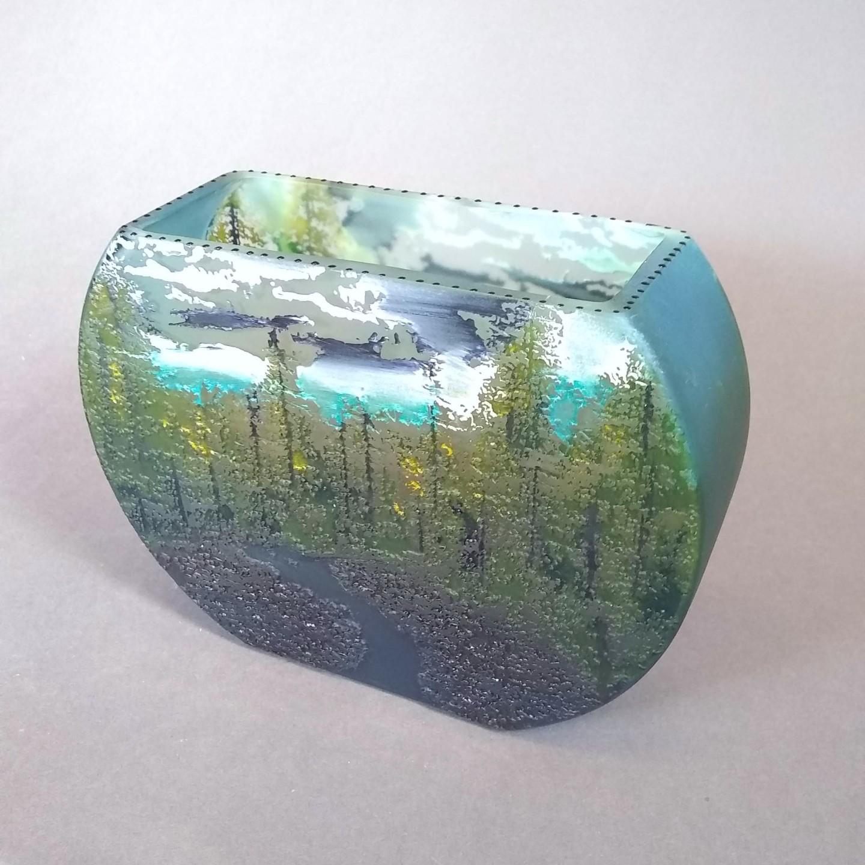 Medium Fishbowl River Vase