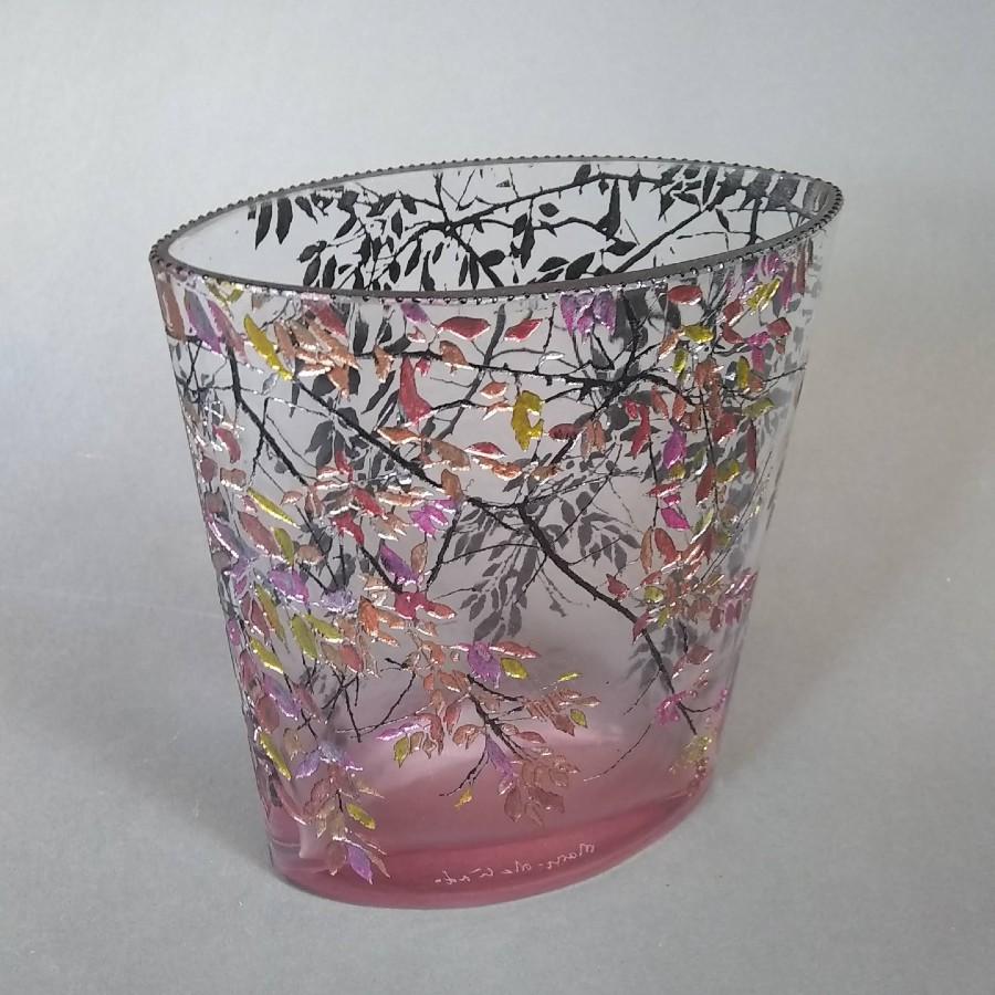 Sm Oval Alder Pink Vase