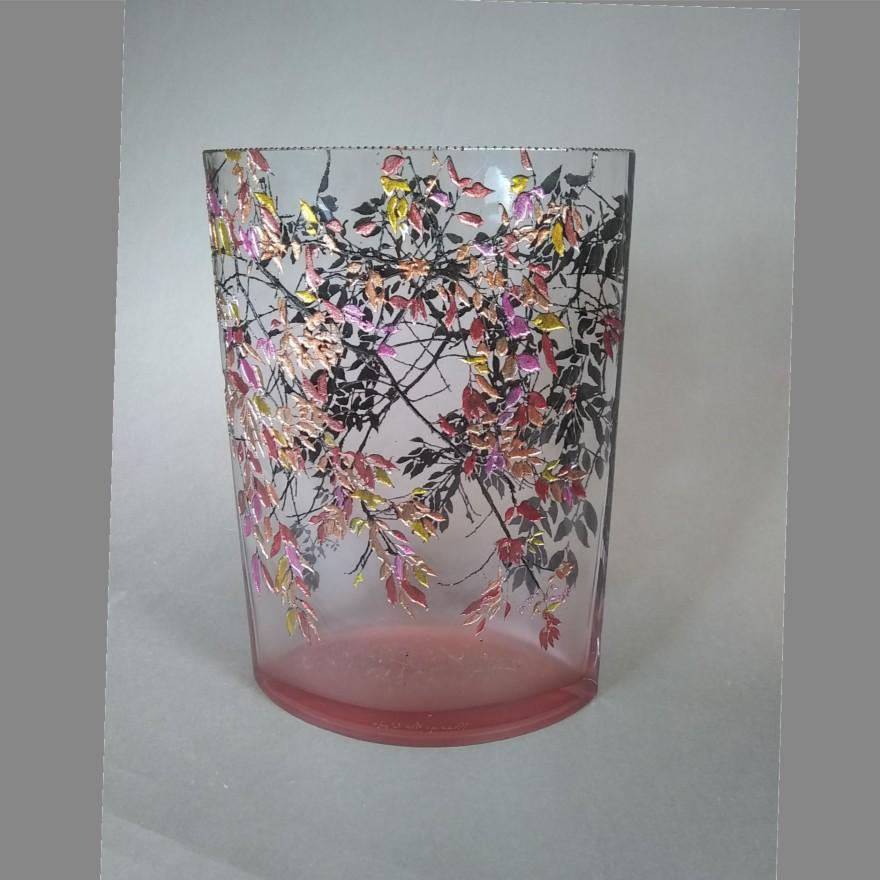 Large Oval Alder Pink Vase