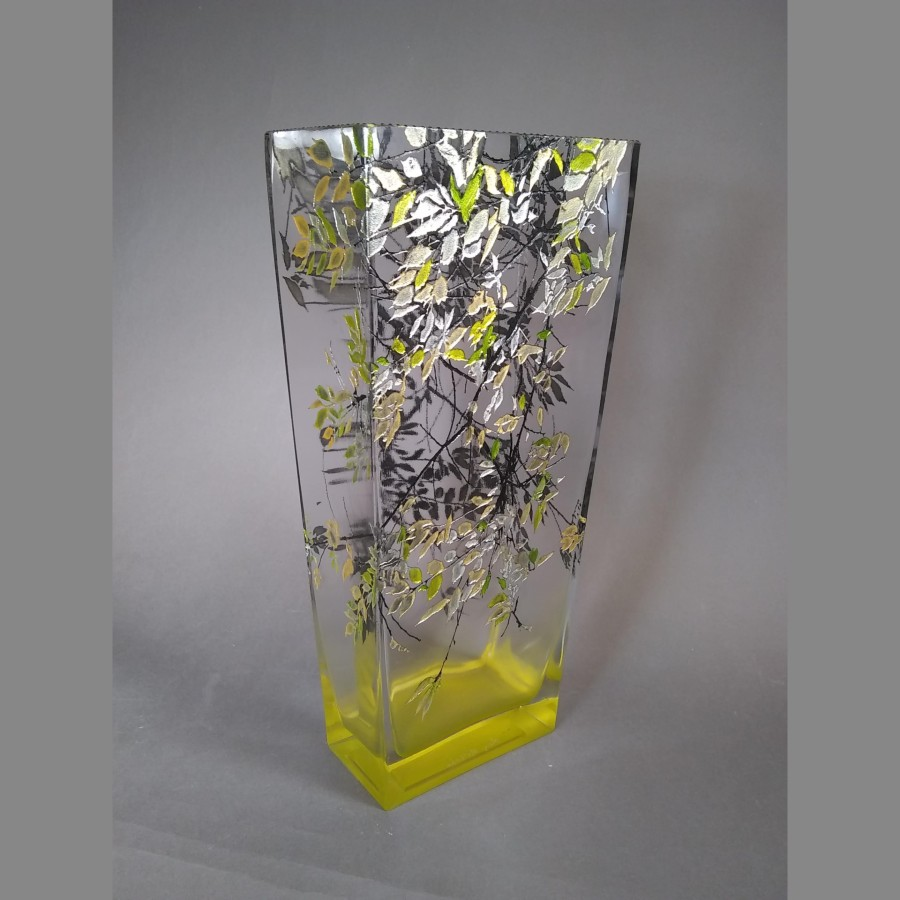 LG Alder Yellow Vase