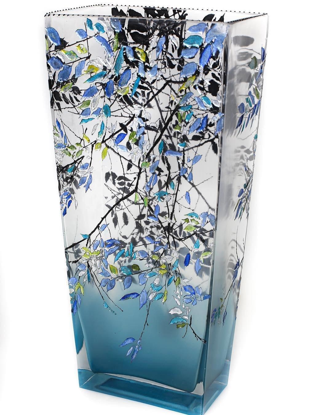 Gordon Alder Blue Vase