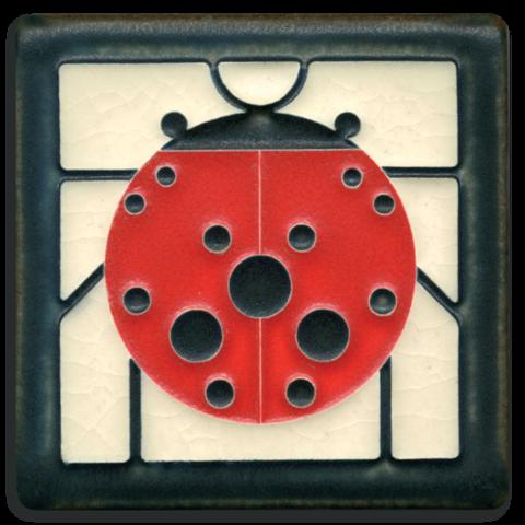 Ladybug 4x4 Tile