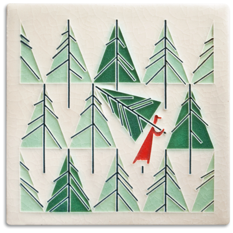 Perfect Tree 6x6 Tile