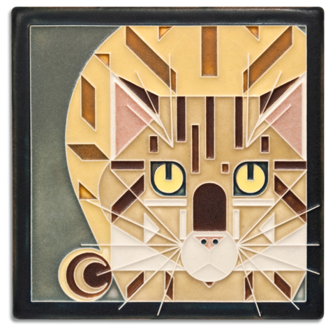 Catnip 6x6 Tile in Golden