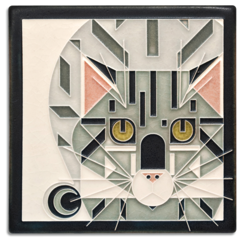 Catnip 6x6 Tile Grey