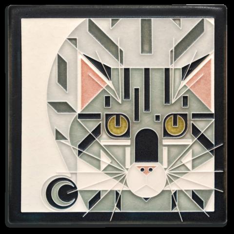 Catnip 6x6 Tile in Grey