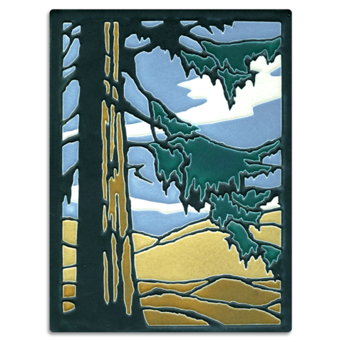Redwood 6x8 Tile