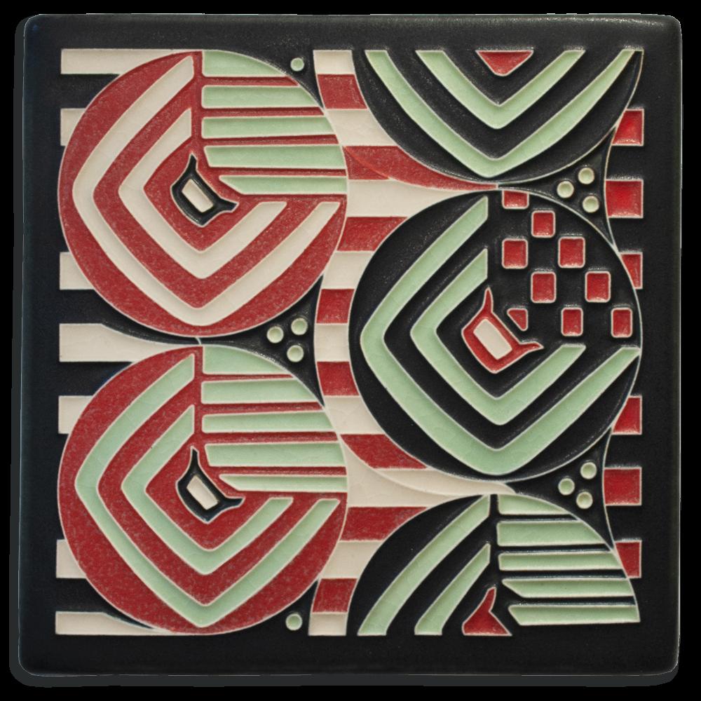 Margaret 6x6 Tile in Mint