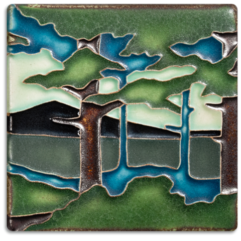 Pine Mountain 4x4 Tile (Summer)