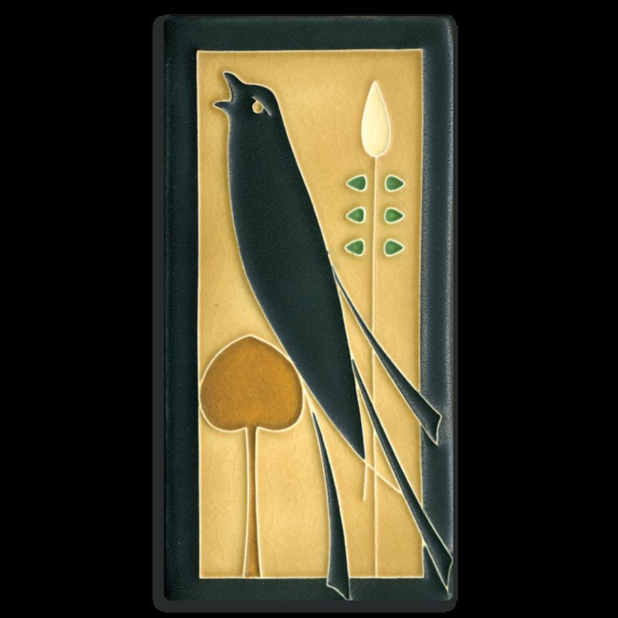 Golden Songbird (L) 4x8 Tile