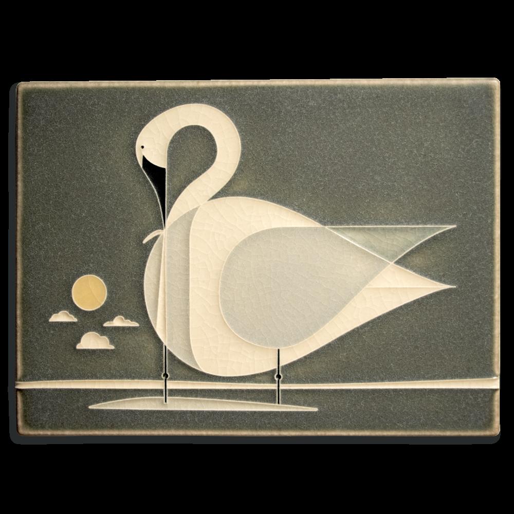 Trumpeter Swan 6x8 Tile