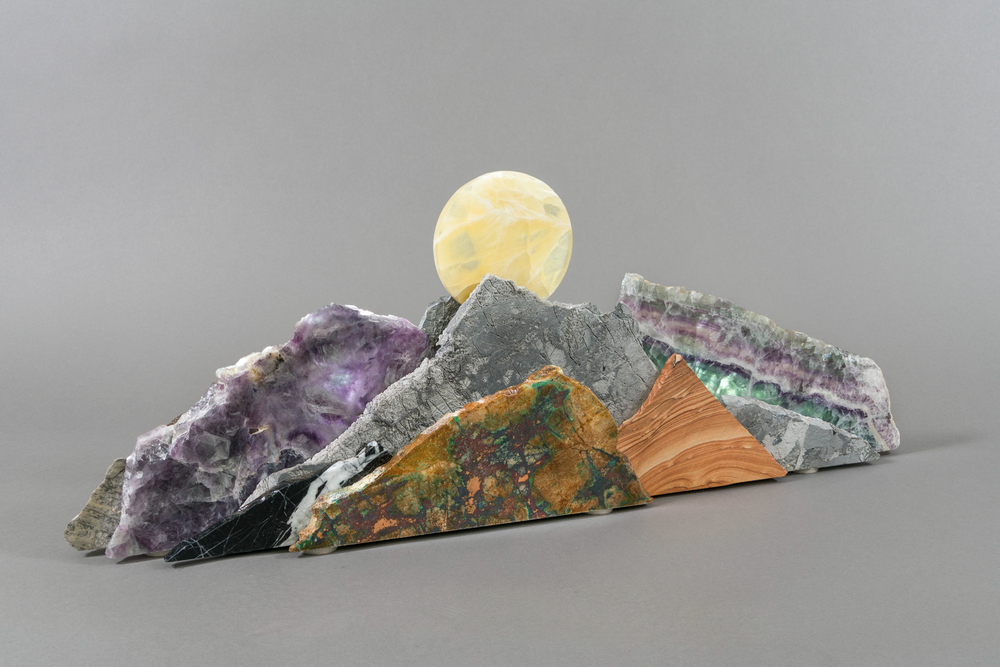 Medium Mountain Sculpture