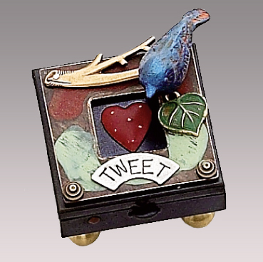 Tweet Bird & Heart Box