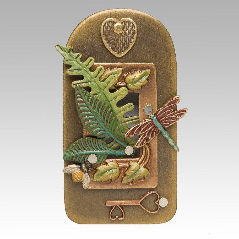 Leaf & Dragonfly Pin