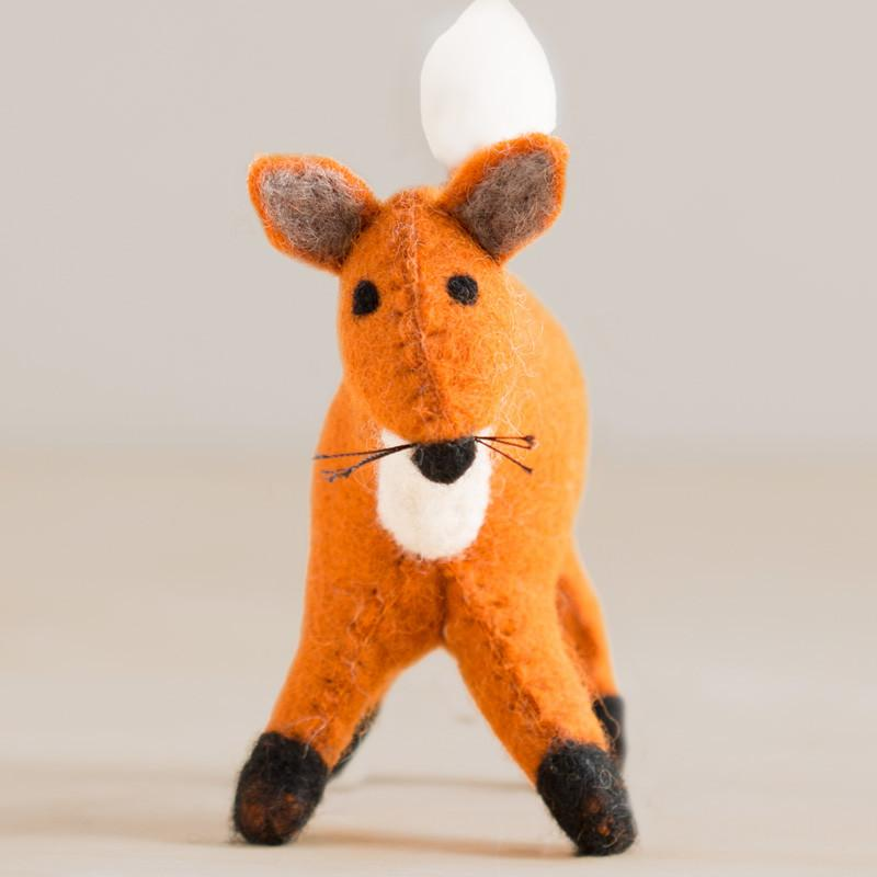 Sm Felted Fox