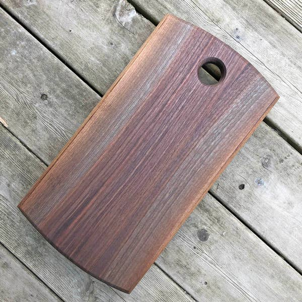 Derry Paddle Serving Board in Walnut