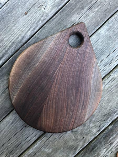 Fermanagh Teardrop Walnut Board