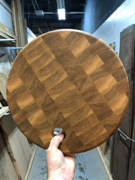Galway Round End Grain Board