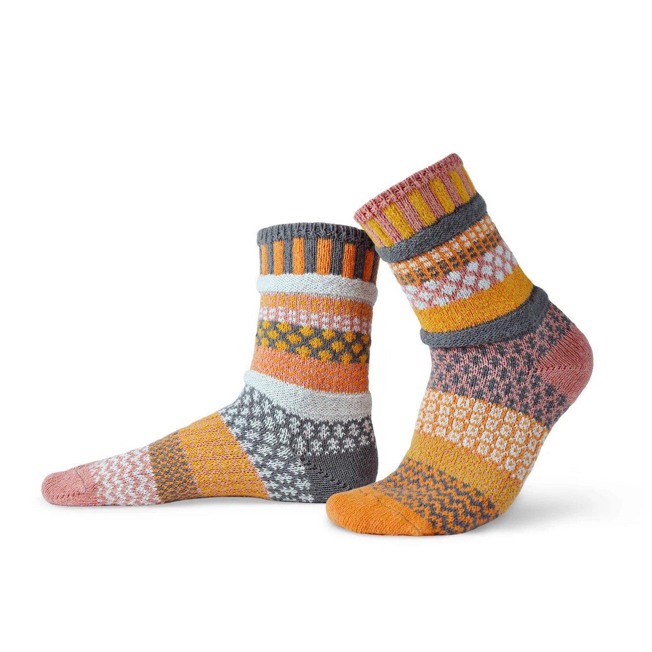 Buckwheat Adult Crew Socks