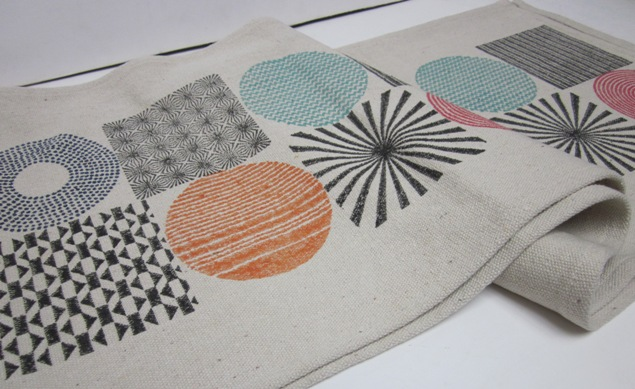 Square/Circle Table Runner (Multi-Color)