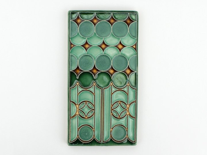 Circus Tile in Green