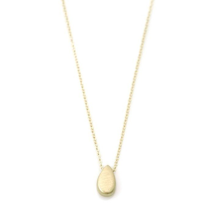 14k Drop Necklace on 16 chain