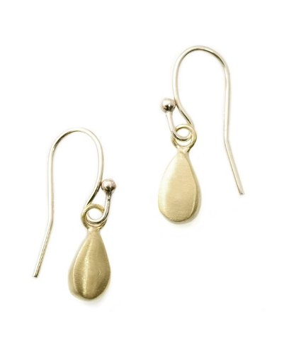 Drop 14k Gold Earrings