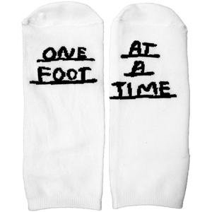 One Foot At a Time Socks