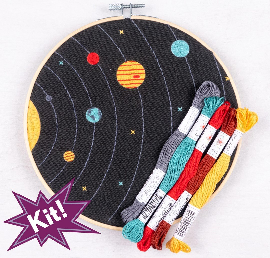 Solar System 8 Embroidery Kit