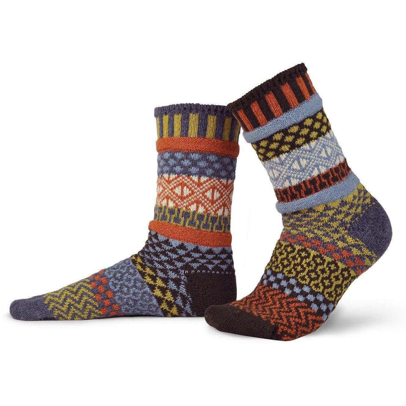 Ponderosa Wool Adult Crew Socks