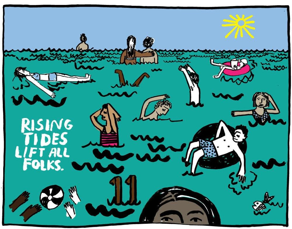 Rising Tides Print