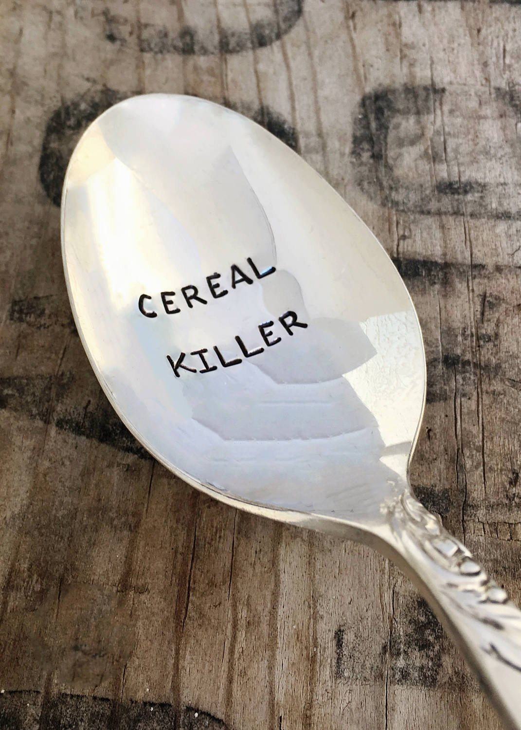 Cereal Killer Vintage Spoon