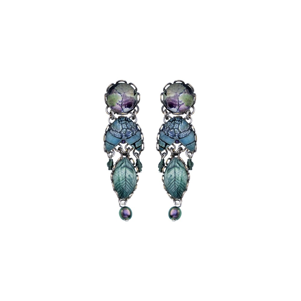 Blue Planet Zalika Earrings