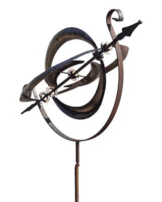 Armillary Wind Spinner